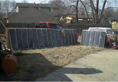 Solarcells Fence