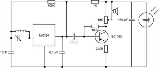 Solar Charger Circuit Schematic