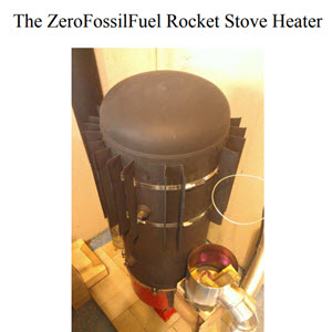Zero's Ultra-Efficient Wood Burning Rocket Stove Heater Plans