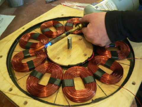 Star Winding Generator Making