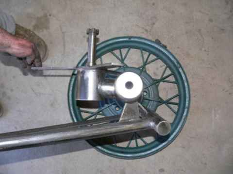 Homemade Furling Device Wind Generator