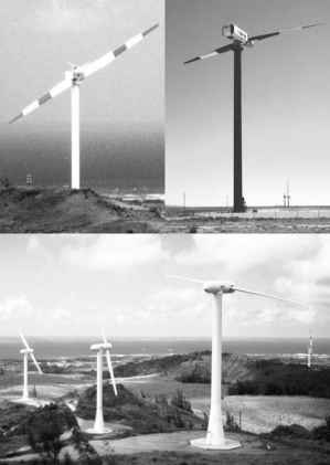 Two Blade Wind Turbine Mod