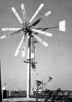 Horizontal Double Wind Turbine