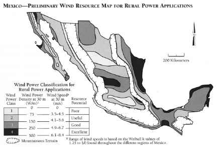 Zacatecas Wind Resource